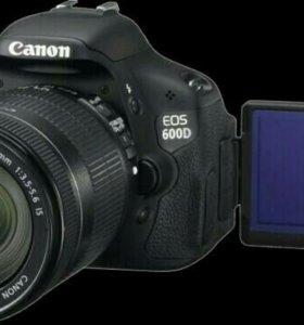 Canon D600 в новом состоянии