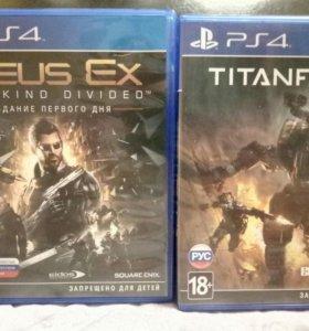 Deus ex PS4 Titanfall 2