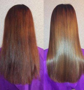 Кератиновое выпрямление волос в Крымске