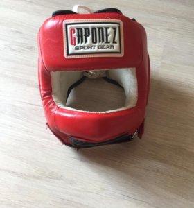 Шлем боксерский с бампером ( защита носа)