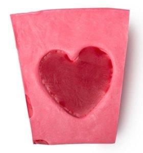 Мыло lush из коллекции ко дню влюблённых