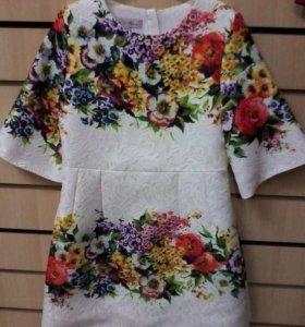 Платье Dolce Gabana 6-8 лет торг
