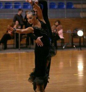 Платье для бальных танцев, латина