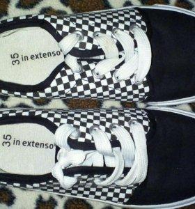 Кеды ботинки женские р.35