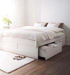 Кровать с ящиками 160\200 см