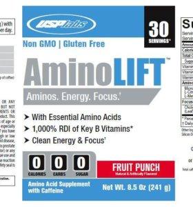 Аминокислоты AminoLIFT (USPlabs) 246g