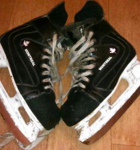 Коньки хоккейные Montreal