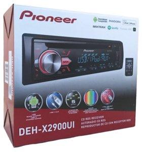 Магнитола pioneer DEH-X2900UI, usb,aux,cd