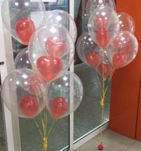 Только сегодня гелиевые шарики по 39р