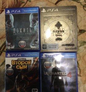 Эксклюзивные игры для PS4
