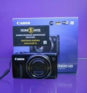 Фотокамера Canon PowerShot SX600 HS ! Т2332