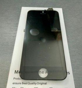 Дисплей+сенсор Iphone 5 черный ААА