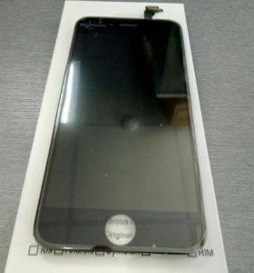 Дисплей+сенсор Iphone 6 черный ААА