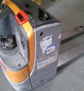 электрическая тележка(погрузчик)