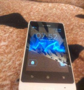 Sony Xperia go st27i 8gb +micro sd 2 gb