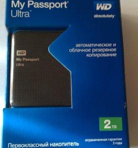 "2,5"" WD My Passport Ultra 2ТВ"