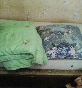 Подушка + одеяло