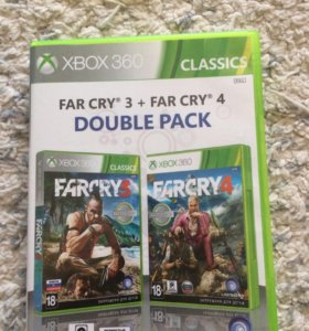 FAR CRY 3 + FAR CRY 4 Double Pack на Xbox 360