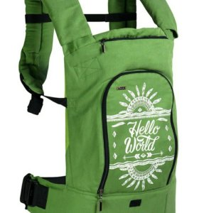Эрго-рюкзак зеленый 🍀