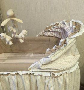 Кроватка колыбель Pituso Bolero 4 в 1