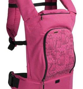 Эрго-рюкзак розовый 💟