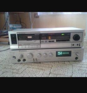 Усилитель и кассетная дека радиотехника
