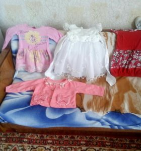 3 Платье ,+одна кофта