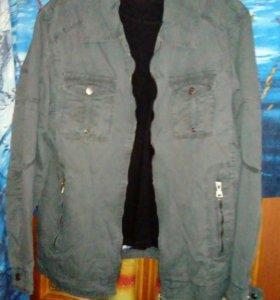 Куртка-ветровка ХБ. Размер 58-60