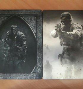 Dark souls 3 и call of duty(в стилбуках)