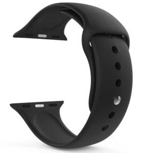 Apple Watch silicone ремешок black 42mm ORIGINAL