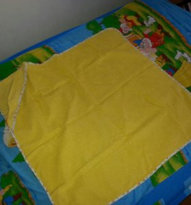 Детское полотенце с уголком