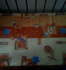 Кроватка детская,матрас(кокос)+постельное белье