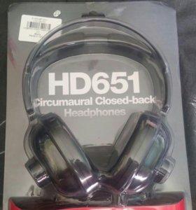 Новые наушники superlux hd-651