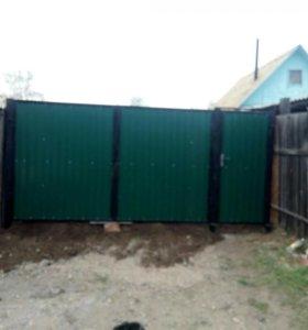 Сварочные работы . Ворота. Двери .Решетки .Заборы.