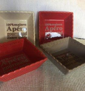Миски для закусок (4шт) без коробки