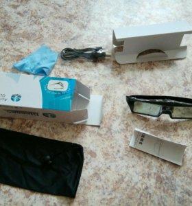 3d очки для dlp проектора.