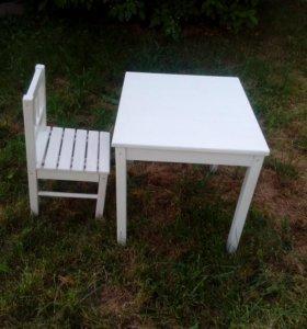 стол и стульчик ikea