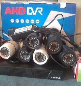 8-канальное AHD видеонаблюдение