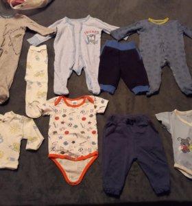 Одежда для мальчика размер 56-62