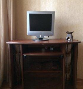 Тумба под телевизор и сам телевизор