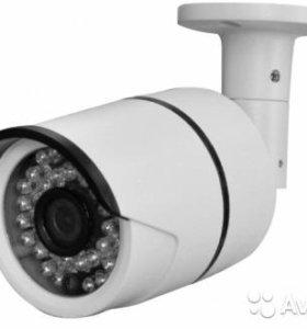 AHD видеокамера цветная уличная 720Р 1.3MPx