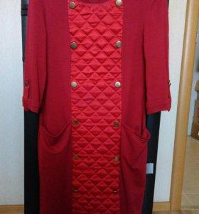 Суперское красное платье
