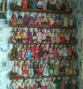 Куклы в народных костюмах. Полная коллекция.