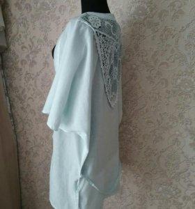 Блузка-накидка р-р 46-48-50. Новая.