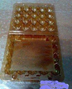 Упаковка для перепелиных и куриных яиц пластиковая
