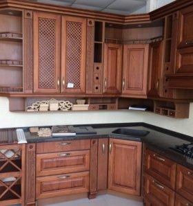 Кухня Массив дерева 2.4х3.4м