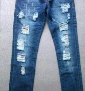 Новые джинсы 40-42