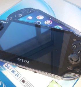 Sony PlayStation Vita 3G,Wi Fi, flash 8gb