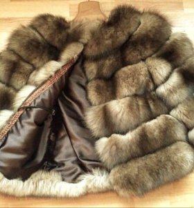 шуба из песца шуба норковая куртка пальто