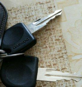 Ключи от дэу матиз